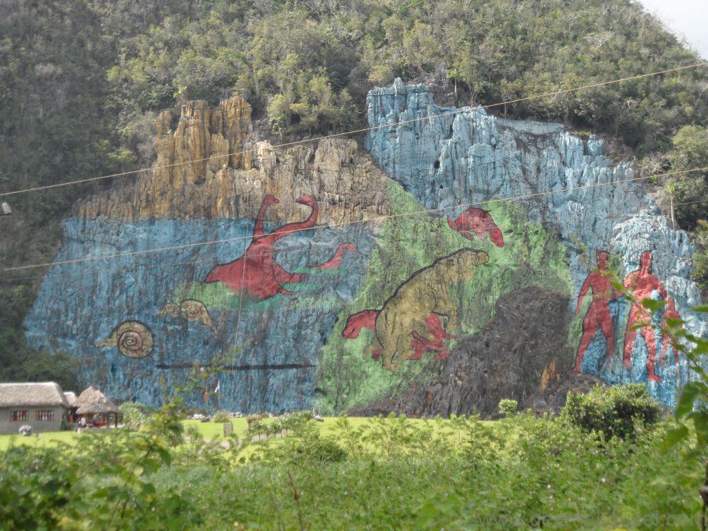 Küba Gezisi Notları, Pınar Del Rio Gezisi Notları, Mural de Prehistorica