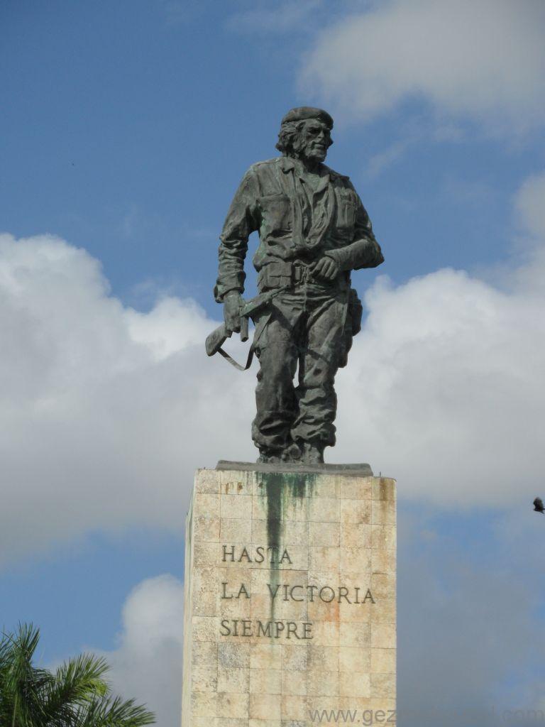 Küba Gezisi Notları, Santa Clara Gezilecek Yerler, Che Anıtı