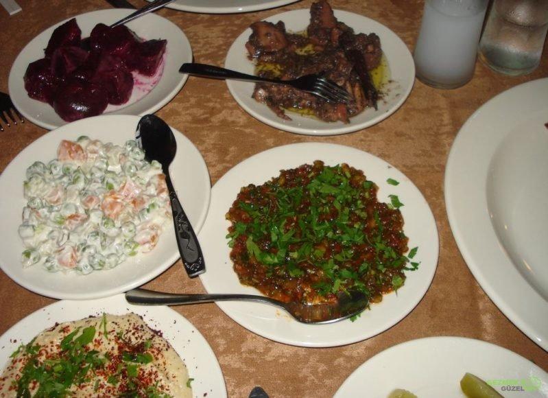 Kıbrıs Gezisi, Kıbrıs Yemekleri, Canlı Balık Restoran