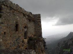 Kıbrıs Gezisi, St. Hilarion Kalesinde