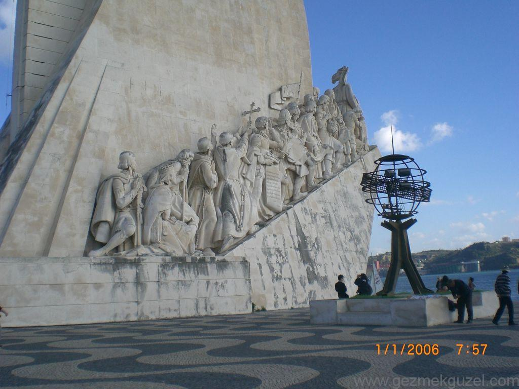 Kaşifler Anıtı, Lizbon Şehir Turu, Porto - Lizbon Gezisi Notları