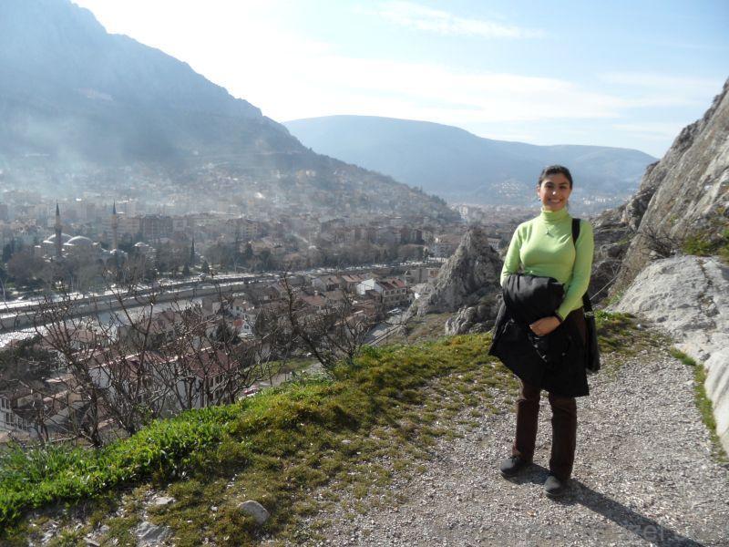 Kaya Mezarlarından Amasya'ya Bakış, Amasya Gezisi Notları