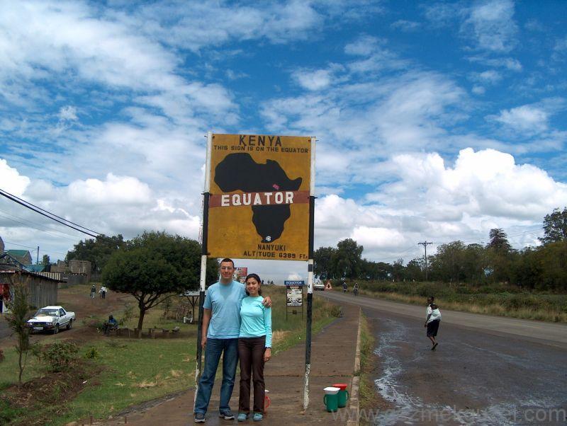 Kenya'da Ekvator Geçişi