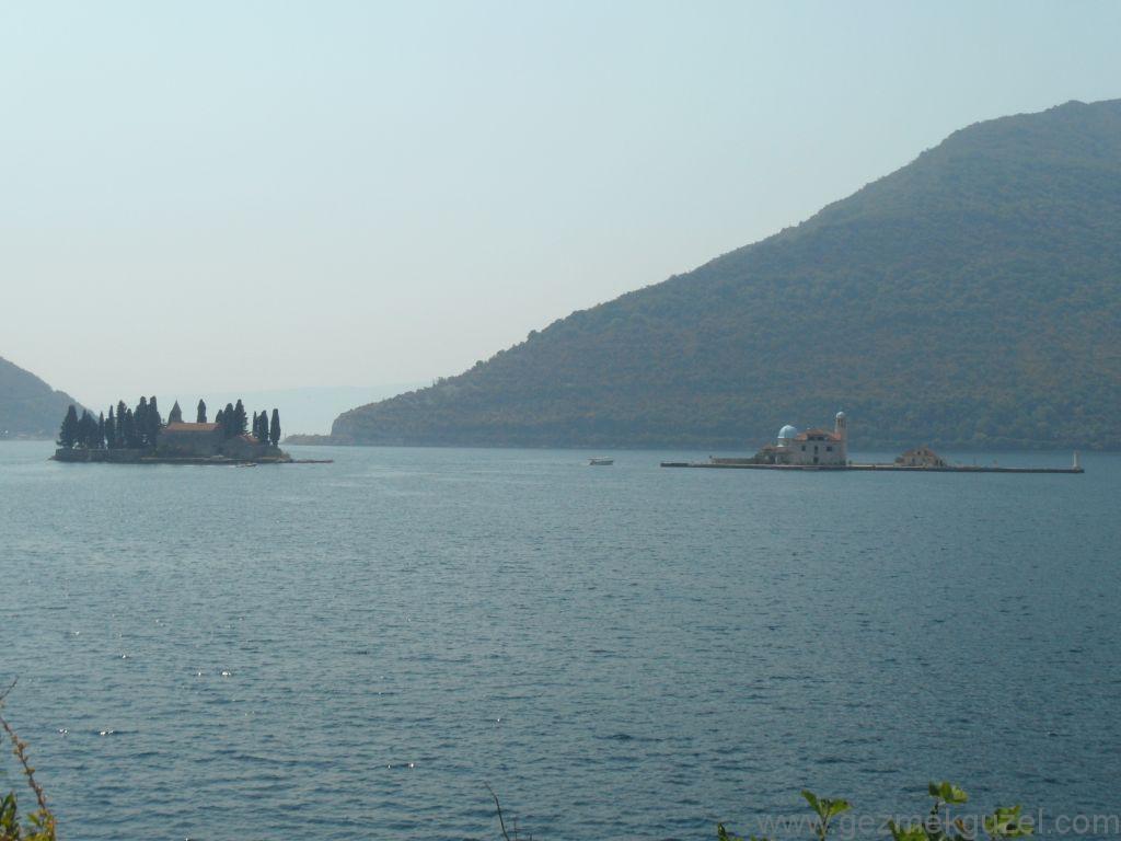 Kotor Körfezi Adaları, Kotor Körfezi, Eski Yugoslavya Yollarında