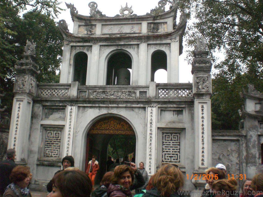 Laos - Kamboçya - Vietnam Gezisi Notları, Hanoi Gezilecek Yerler; One Pillar Pagoda