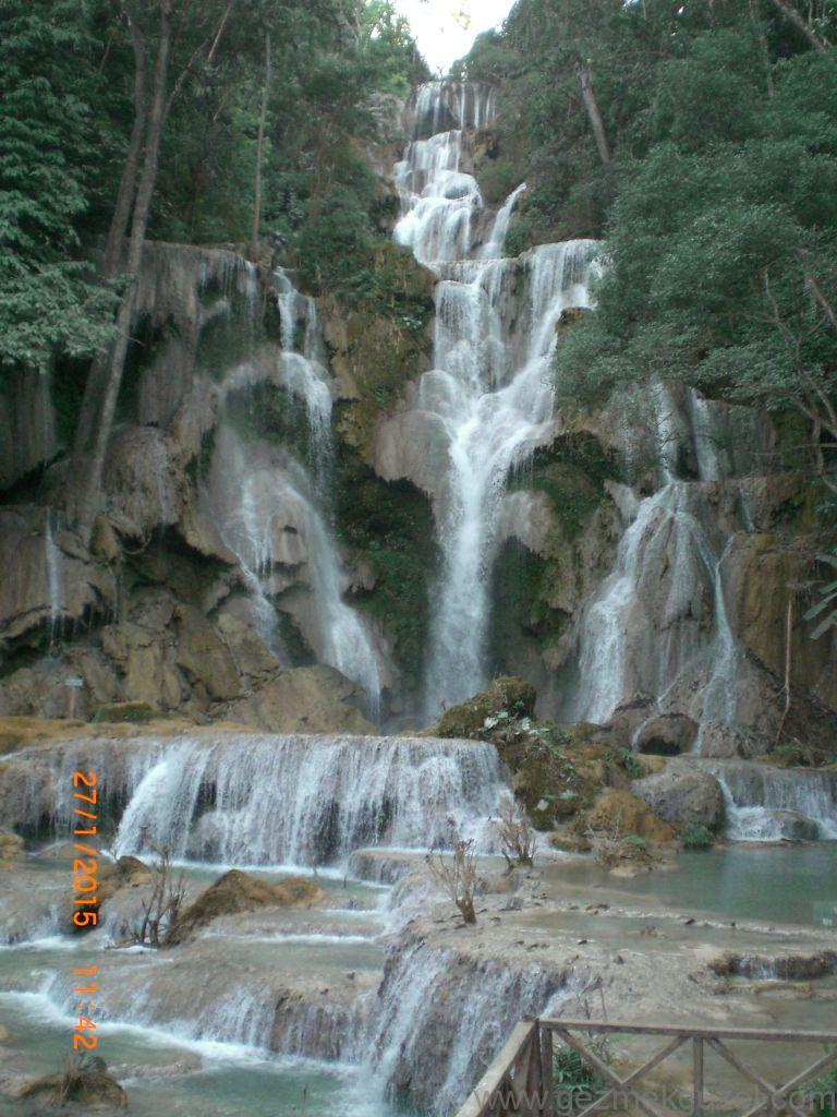 Laos - Kamboçya - Vietnam Gezisi Notları, Laos Gezilecek Yerler, Kunang Si Şelalesi 3