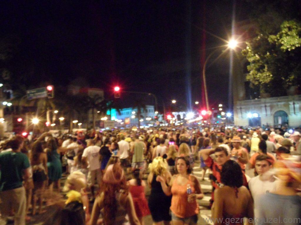 Lapa Bölgesi, Rio Karnavalı, Brezilya Gezisi Notları