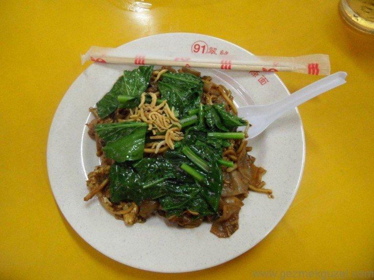 Malezya Mutfağı, Singapur Yemekleri, Noodle