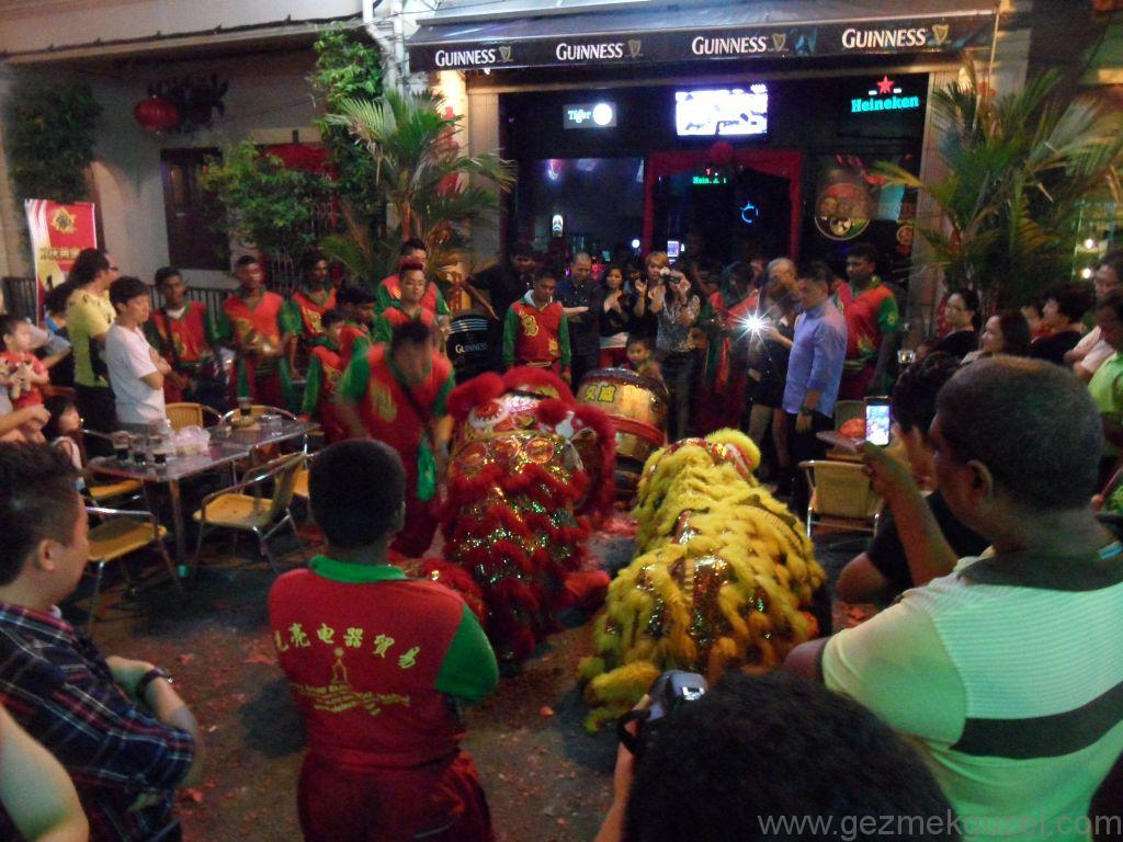 Malezya gezilecek yerler Melaka Çin yeni yılı