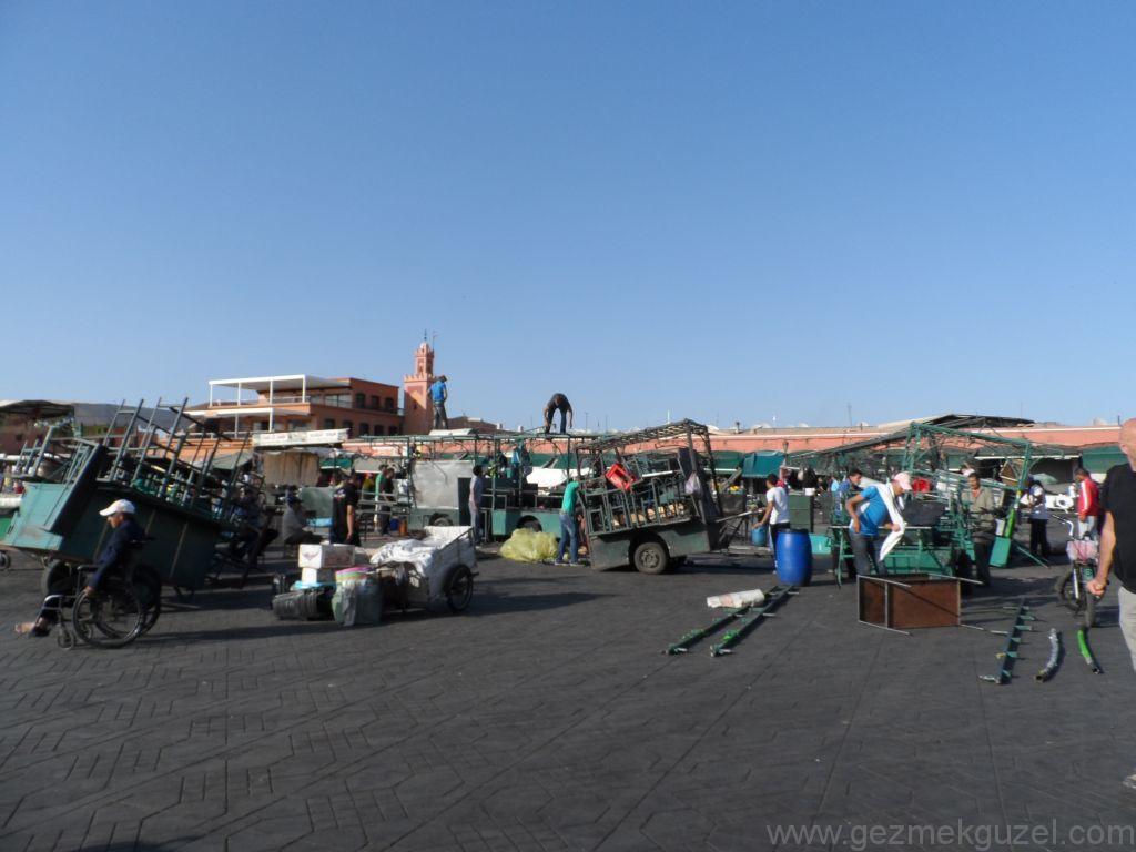 Marakeş Büyük Meydan Jemaa el Fna