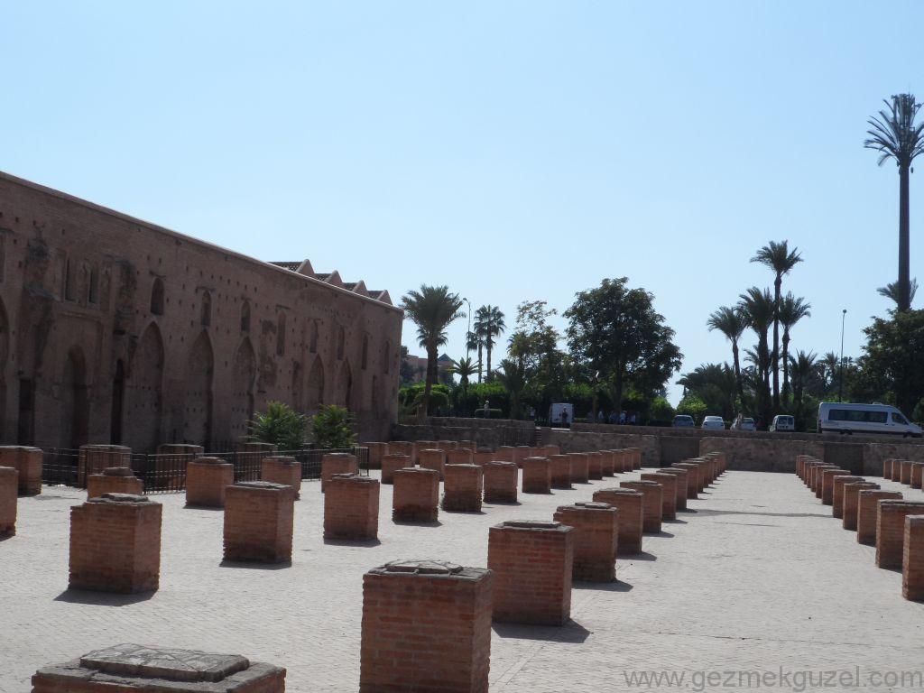 Marakeş Kutubiye Camii Hatası