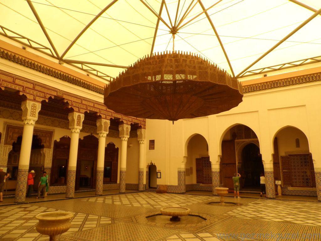 Marakeş Müzesinin içi