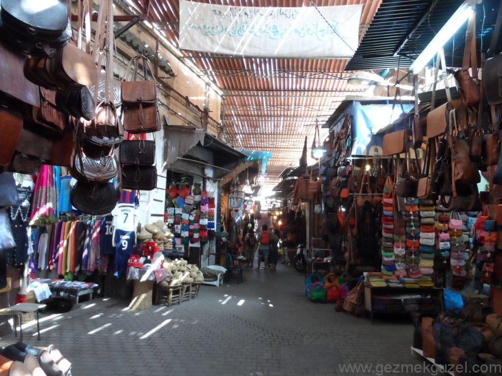 Marakeş'te Alışveriş