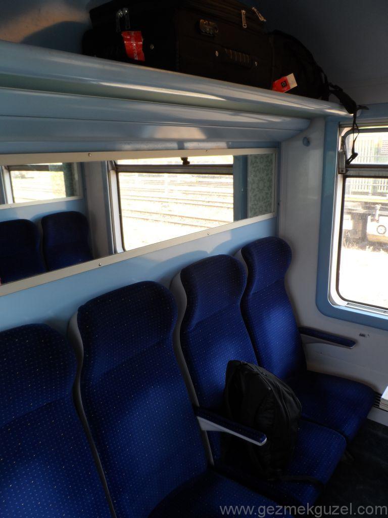 Marrakech Tren Kompartmanı