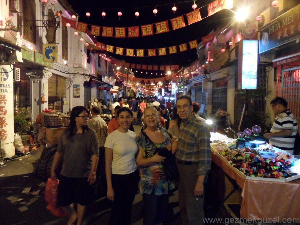 Melaka Gezilecek Yerler; Tarihi Melaka Çarşısı