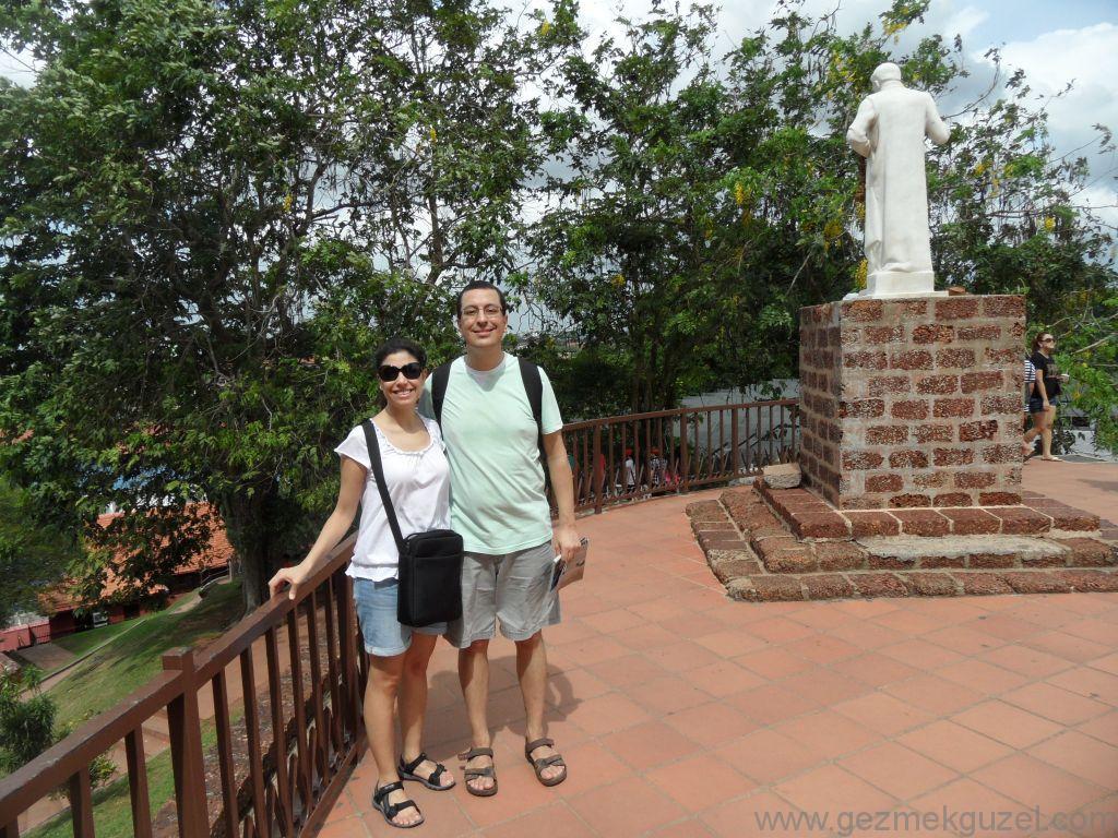 Melaka Gezisi Notları Aziz Paul kilisesi