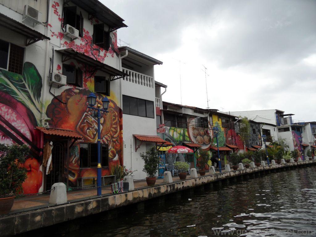 Melaka'da Nehir Turu, Malezya Gezisi Notları