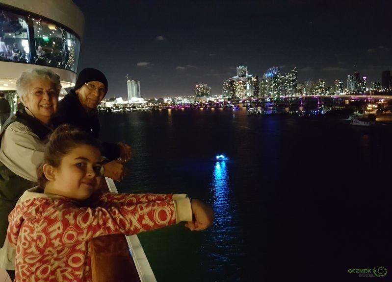 Miami'den ayrılış, Karayipler Gezisi Notları