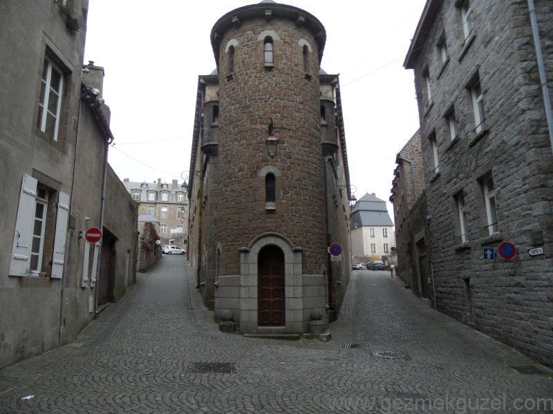 Mont Saint Malo Sokakları
