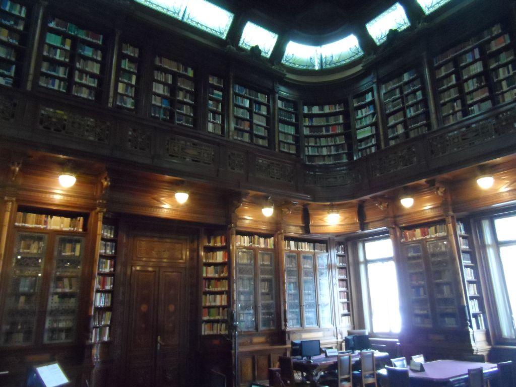 Montevideo Parlamento Binası Kütüphanesi