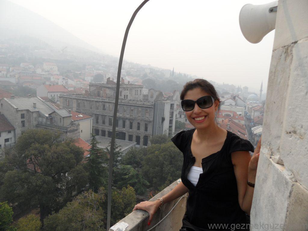 Mostar'da Minarenin tepesinde, Mostar Gezisi, Eski Yugoslavya Yollarında