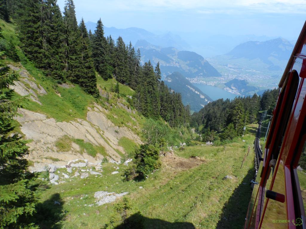 Mt Pilatus Dağı, Dünyanın en dik treni, Luzern Gezilecek Yerler