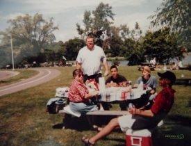 Niagara şelalesinde piknik, Buffalo