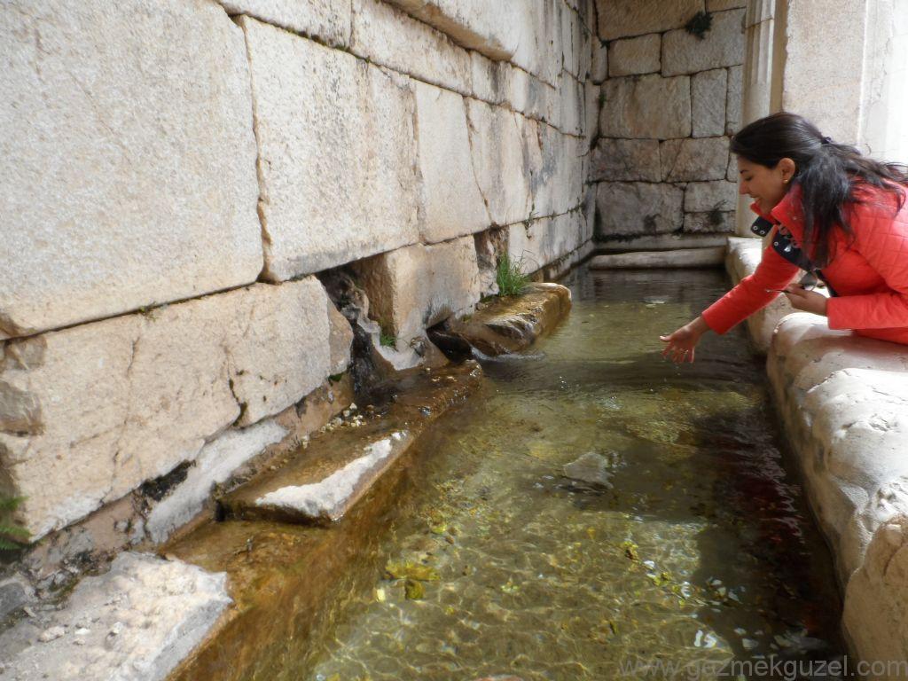 Pınarından Kaynayan Dorik Çeşme, Sagalassos Antik Kenti