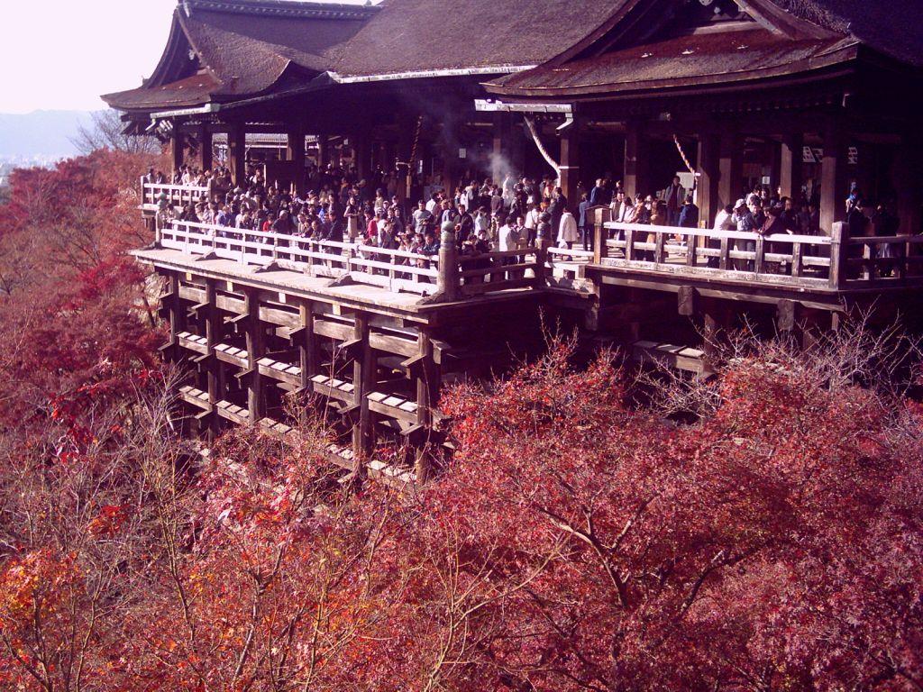Hayran olduğum Kiyomizudera tapınağı