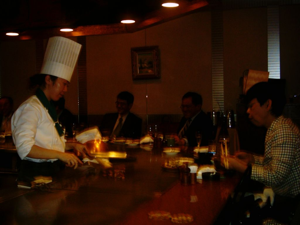 Japonya'da Teppenyaki keyfi