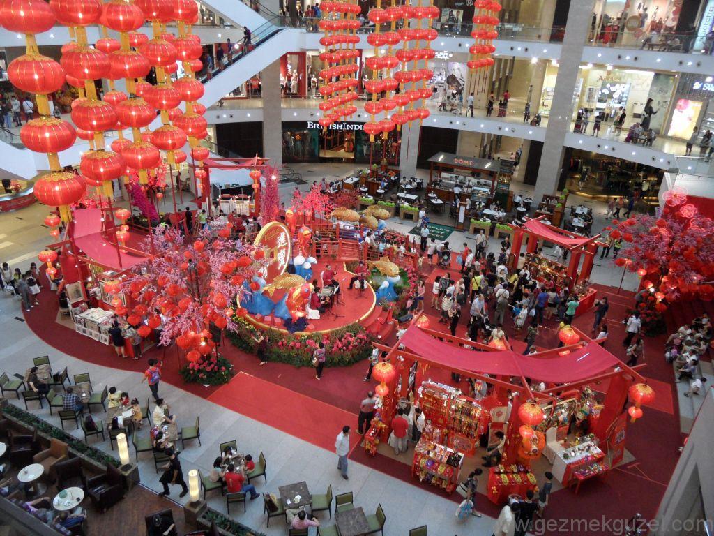 Pavilion alışveriş merkezi, Kuala Lumpur Gezisi Notları
