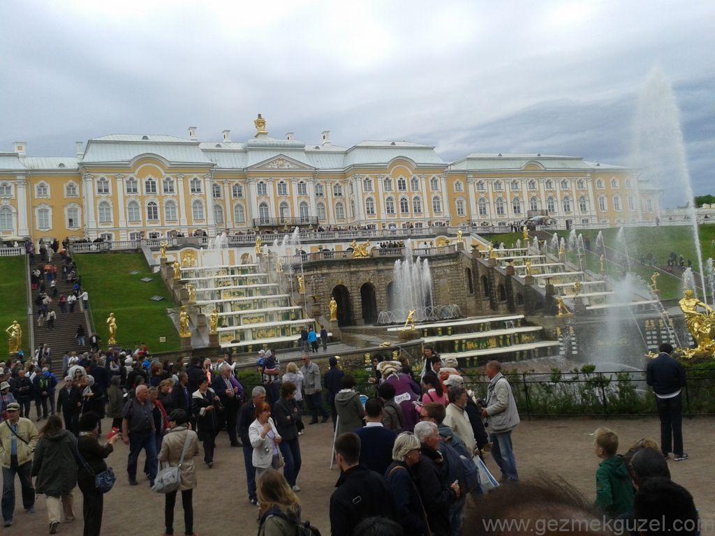 Petrodvorets, St Petersburg Turu, Baltık Başkentleri Gezisi