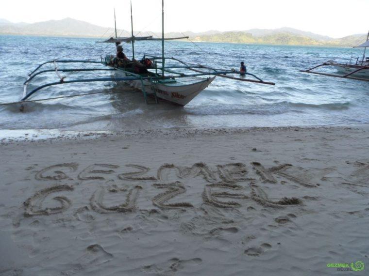 Pinagbuyutan Island - El Nido Tekne Turları