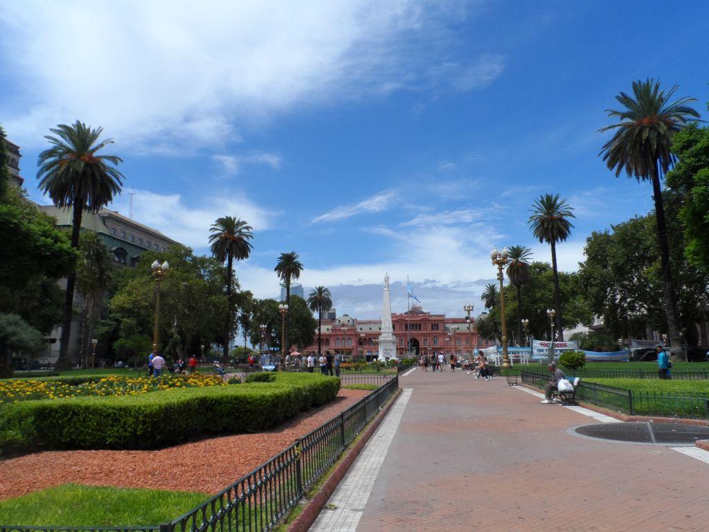 Plaza de Mayo'dan Casa Rosada