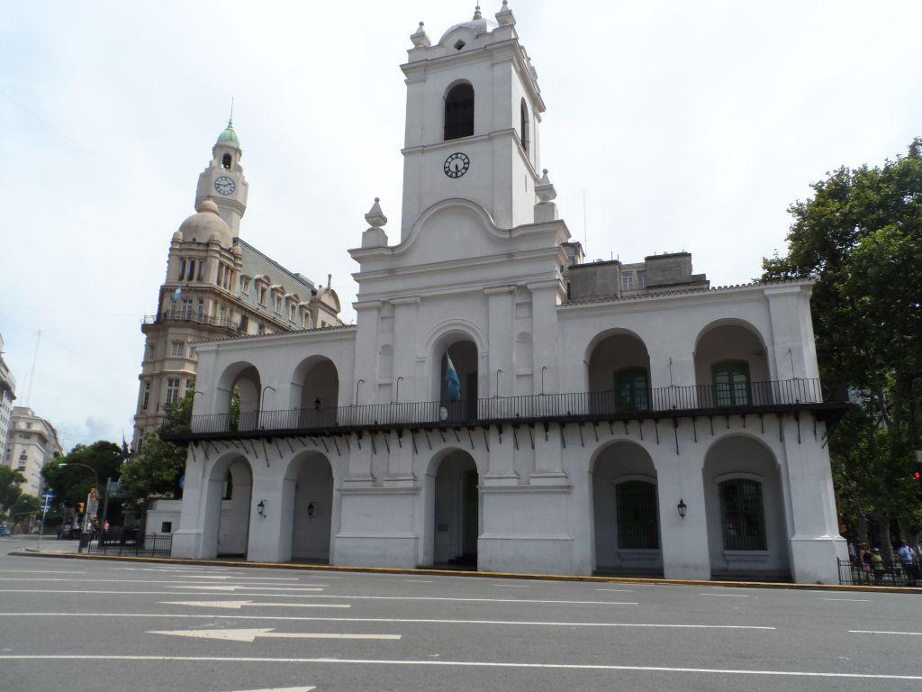 Plaza de Mayo'dan