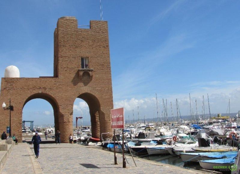 Port Sidi Fredj - Tipaza Gezilecek Yerler
