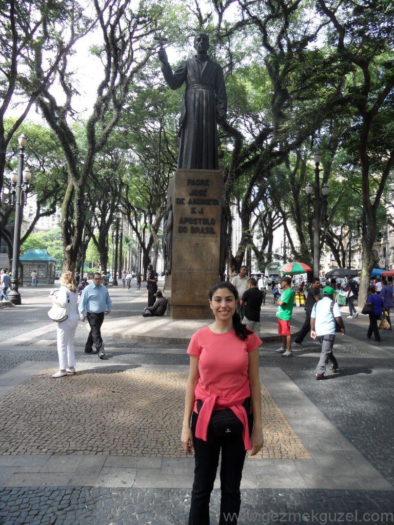 Praca de Sé'de, Sao Paulo Gezilecek Yerler, Brezilya Gezisi Notları