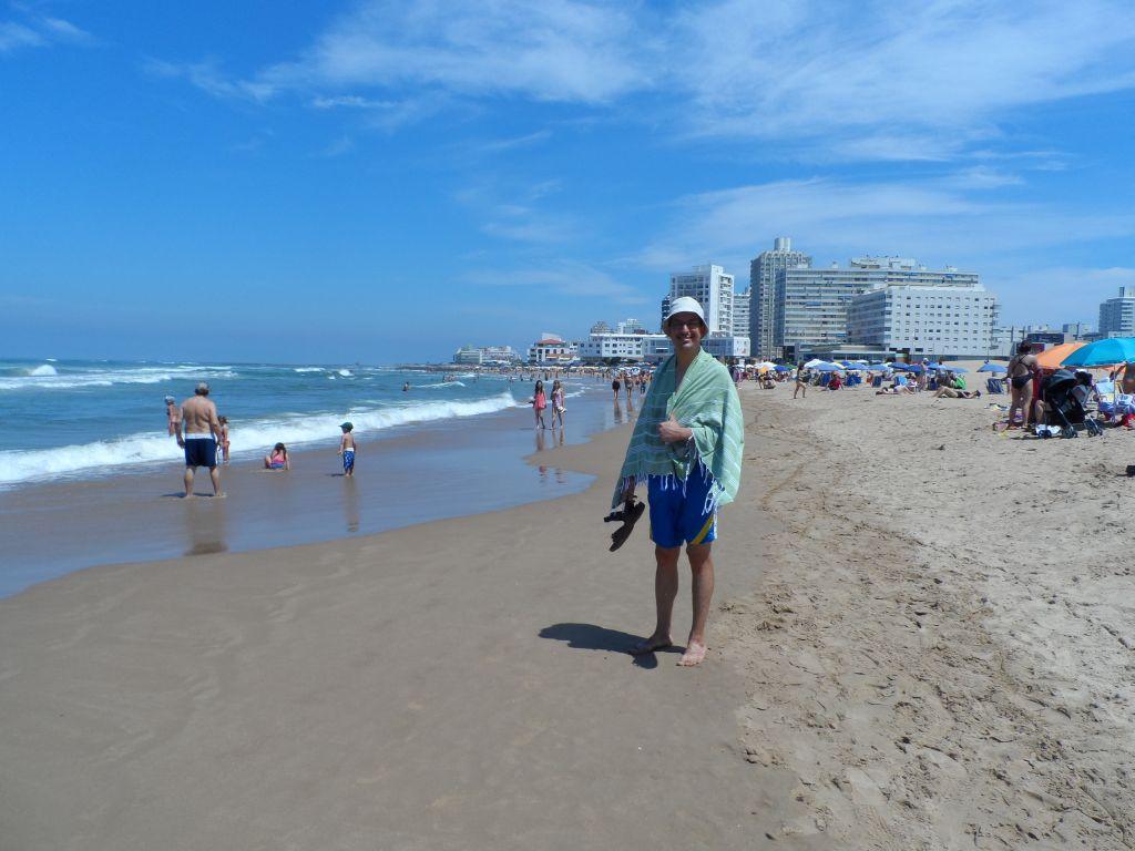 Punta del Este'de deniz sonrası