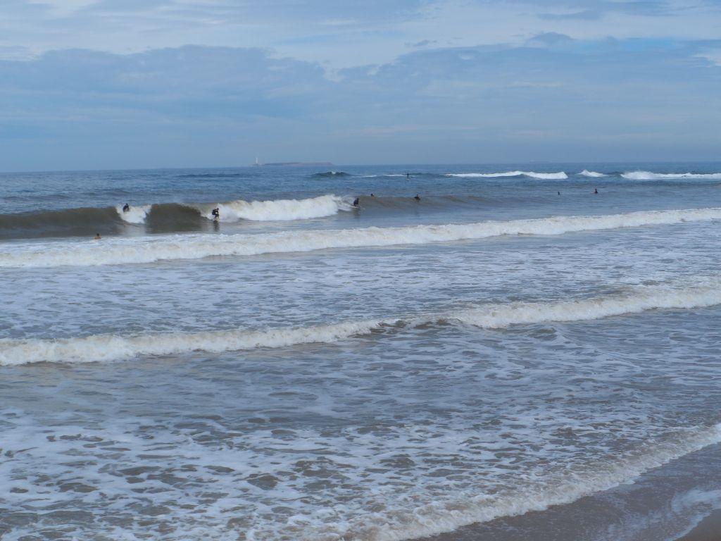 Punta del Este'de surf yapanlar
