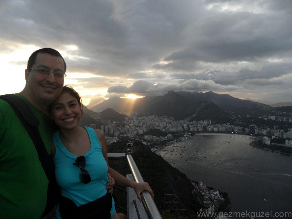 Rio de Janerio'da gün batımı, Brezilya Gezisi Notları