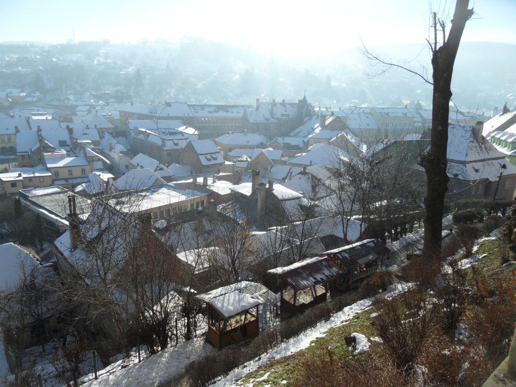 Sighişoara'da manzara
