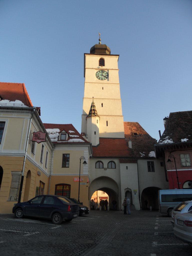 Sibiu saat kulesi
