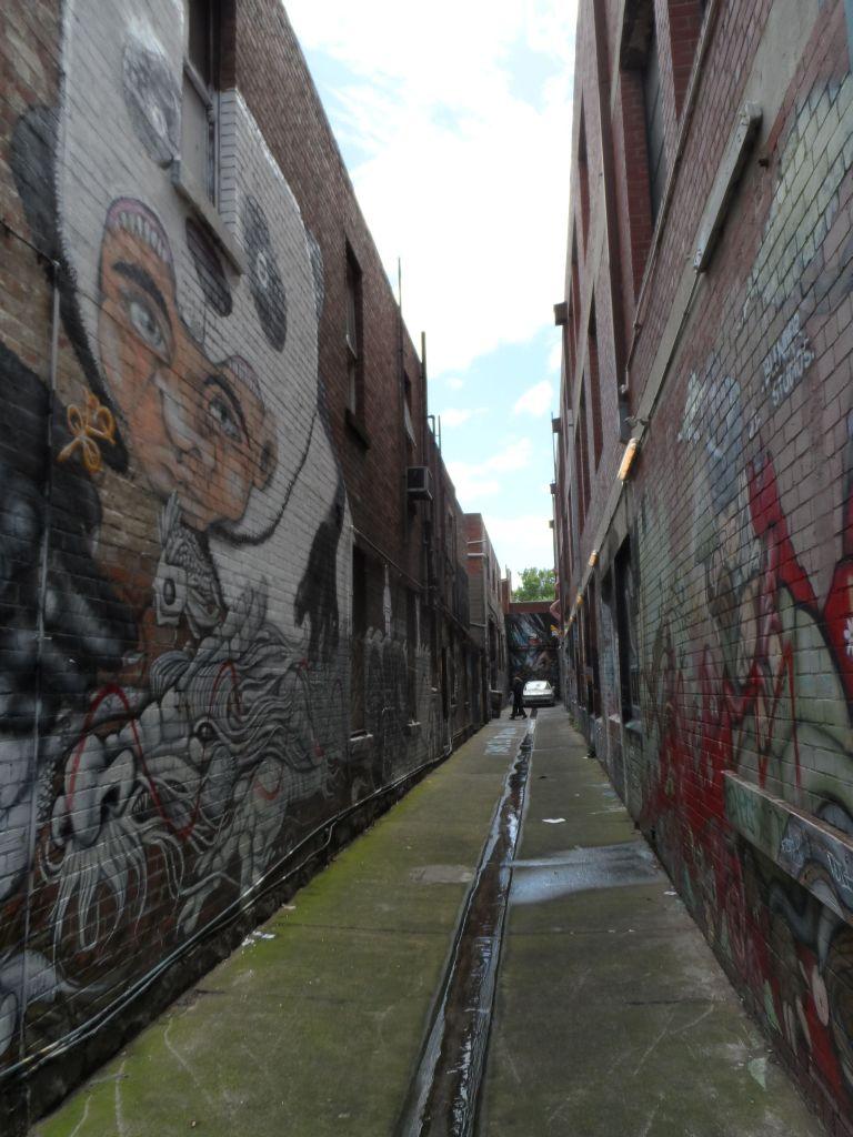 Melbourne sokaklarında