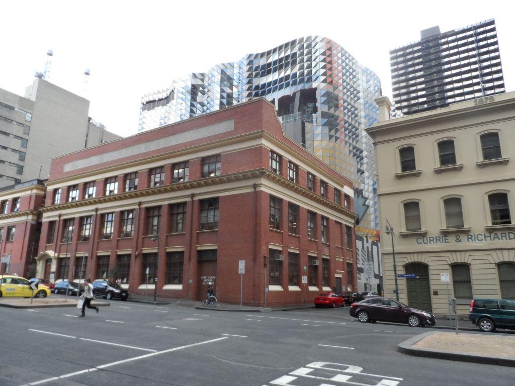 Melbourne'de modern ve klasik birlikte
