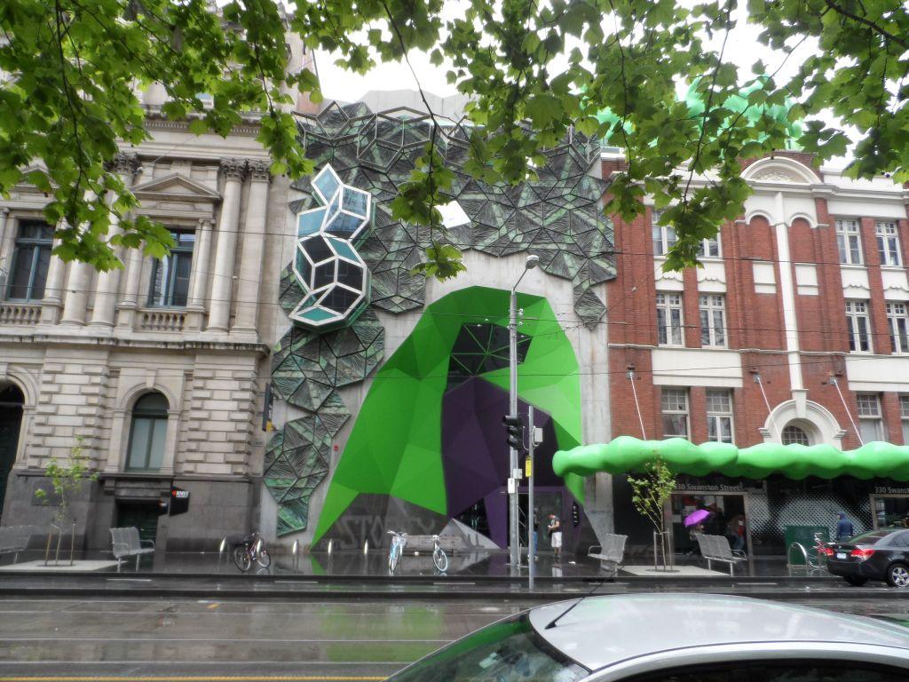 Melbourne'de modern mimari