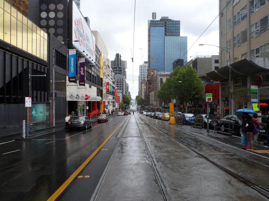 Melbourne caddelerinde