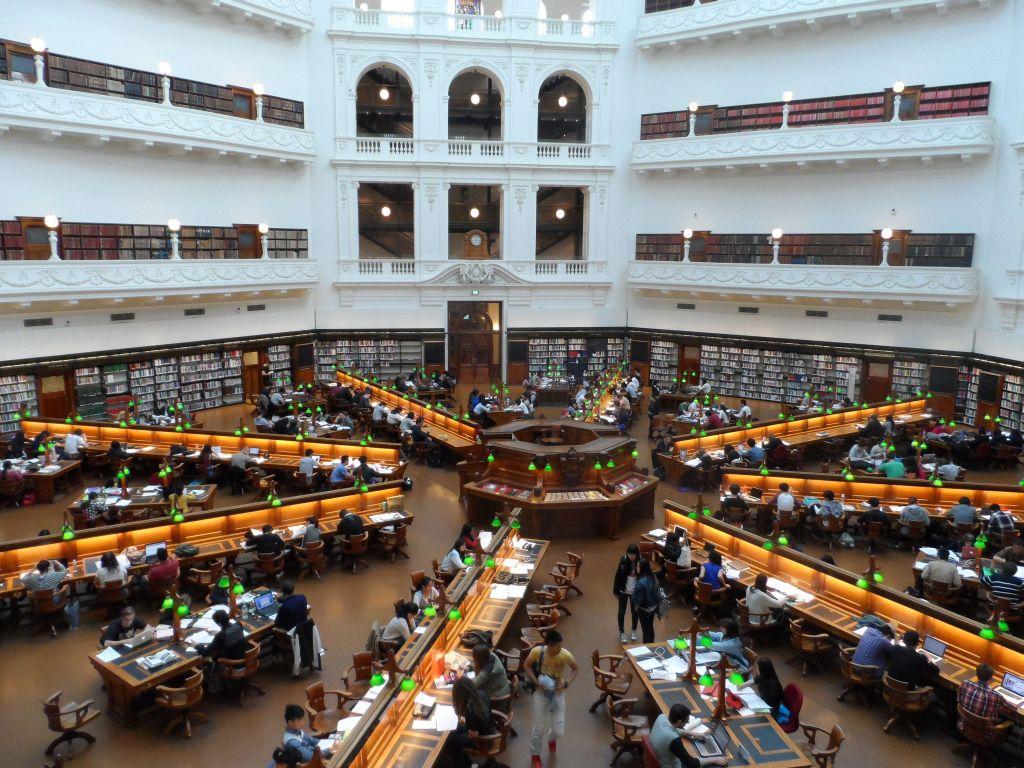 Melbourne kütüphanesi