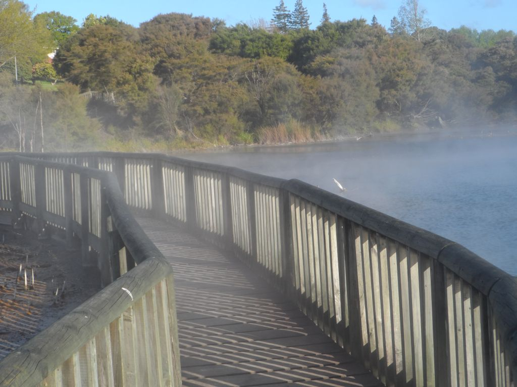 Rotorua'nın dumanları