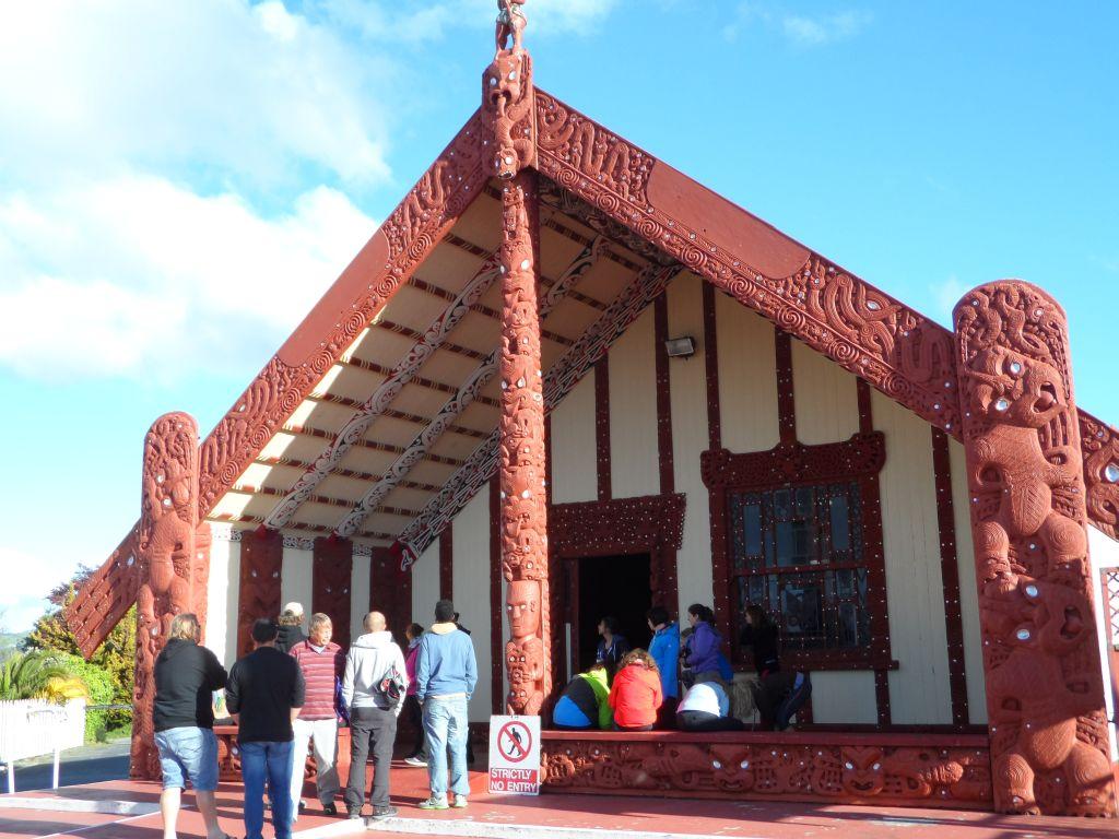 Rotorua'da Maori Kilisesi