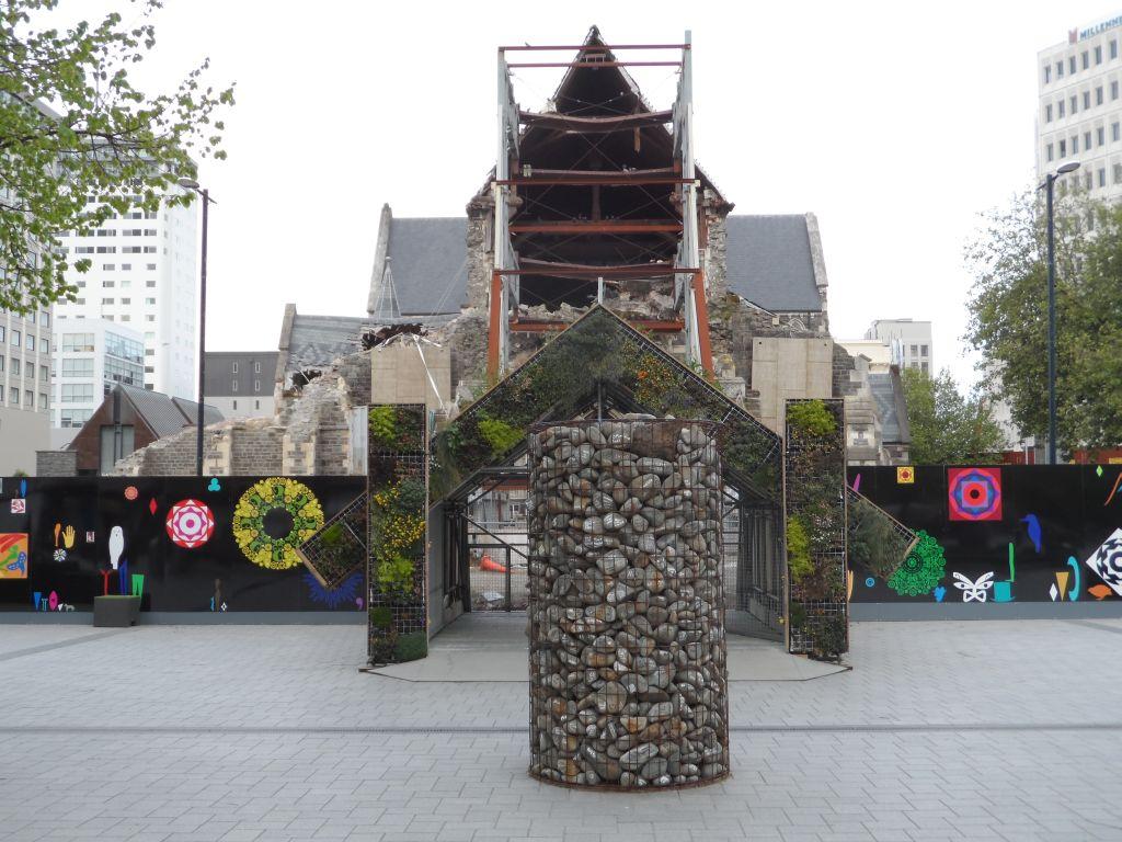 Christchurch şehir merkezi